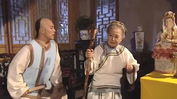 乾隆皇帝寻找身世,找到这位老太婆,没想到她竟是自己的生母