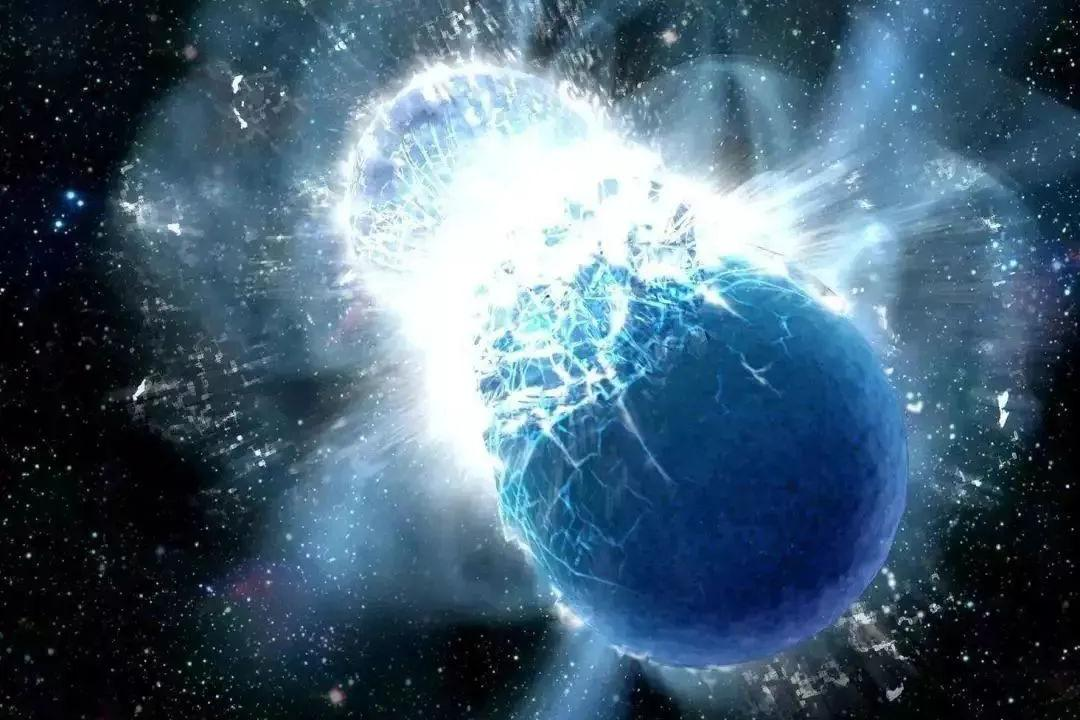 银河系中发现:迄今最大质量的两颗中子星碰撞,还产生了引力波!