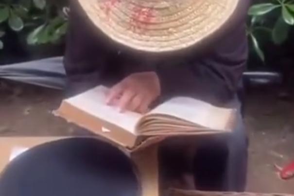 70岁老人边看英文版高数边卖鸡蛋,迎来高赞!(附最全高数公式)