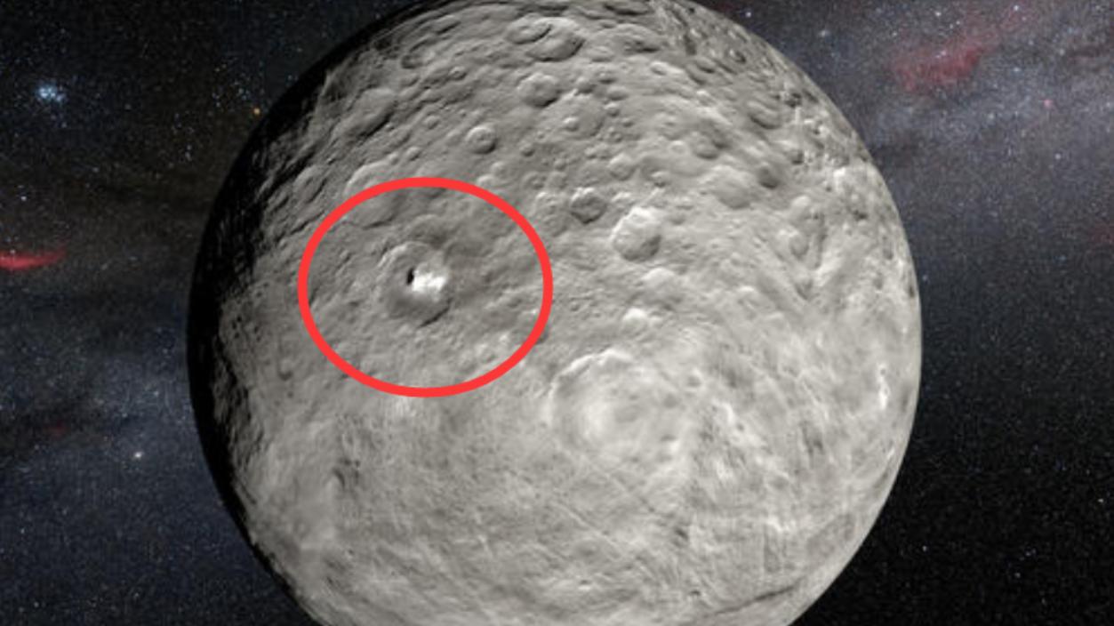 谷神星上出现神秘亮点,是自然现象还是外星生命?黎明号即将揭晓