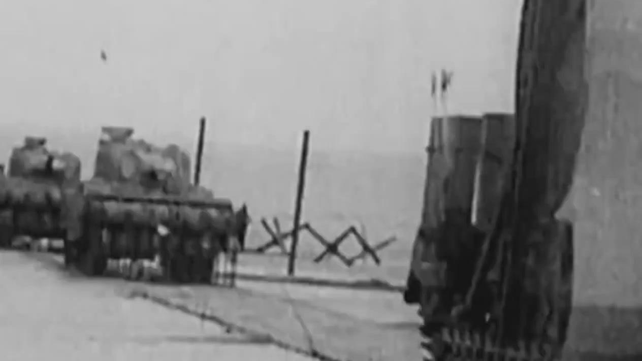 二战奇葩武器多,这款战车,你们应该很少见。