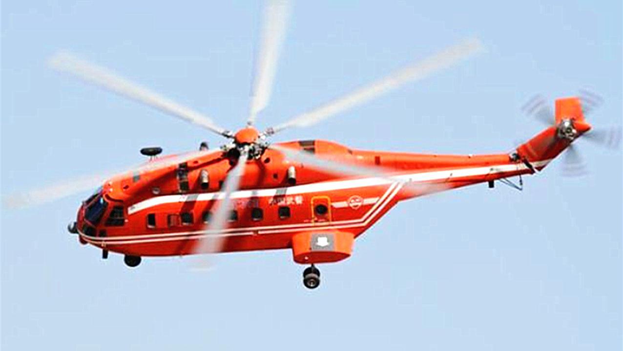 """骄傲!中国""""最大""""的重型直升机,采用了老直8的基础结构!"""