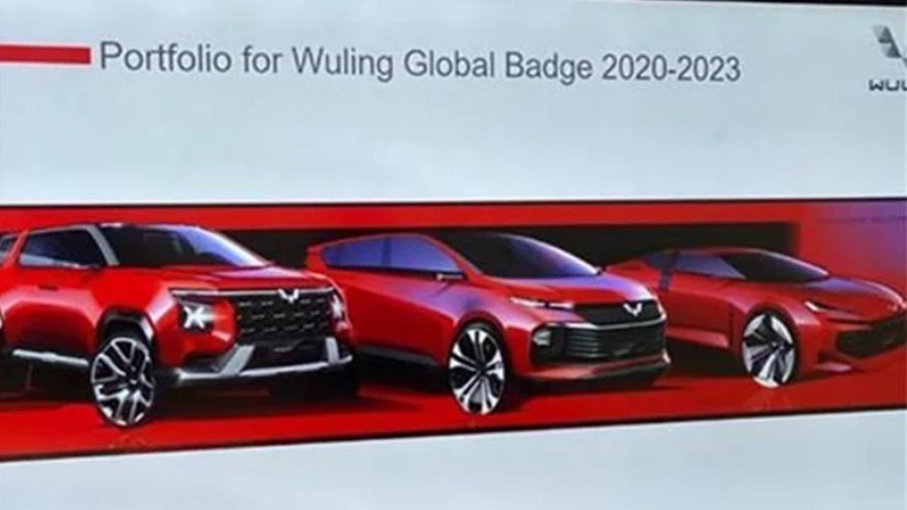 厉害了五菱!采用全新LOGO设计,五菱全新SUV、MPV、轿跑曝光