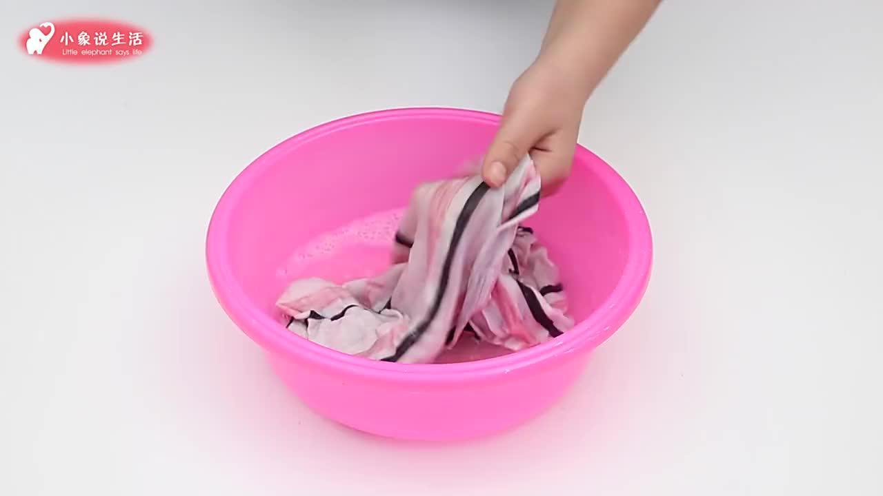 厉害了!衣服不管染上什么污渍,用这招都能洗掉,快回去试试