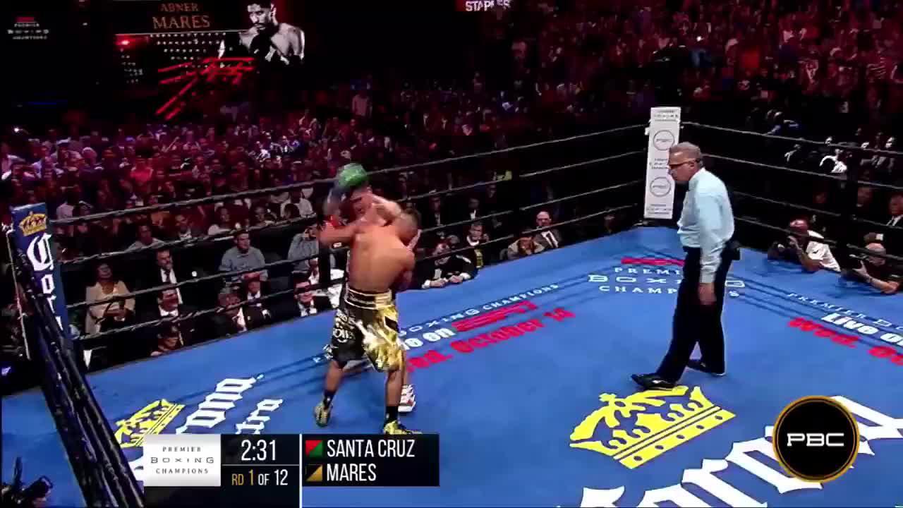 克鲁兹VS马雷斯重拳硬钢十二回合,比赛结束后二人仍意犹未尽