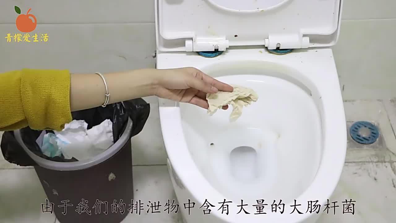 卫生纸应该扔马桶还是垃圾桶?不少人都扔错了,难怪厕所这么臭