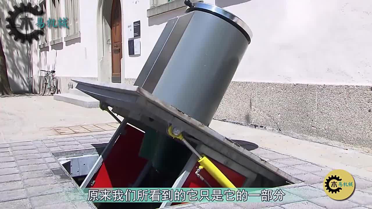 """瑞士发明""""装不满""""的垃圾桶,比普通垃圾桶多装10倍"""