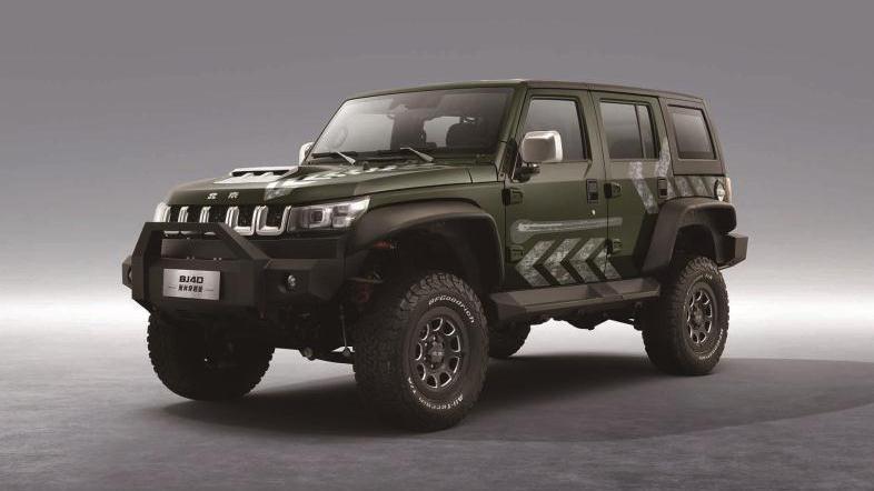 视频:新车|北京BJ40雨林穿越版售26.99万,外观硬朗粗犷,最大231马力