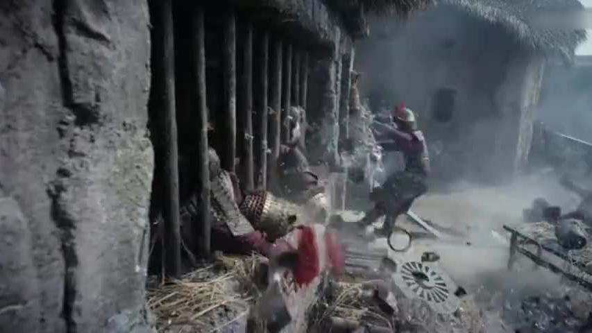 梁军硬攻古城,灏王在劫难逃,多亏凌王及时赶到救下灏王