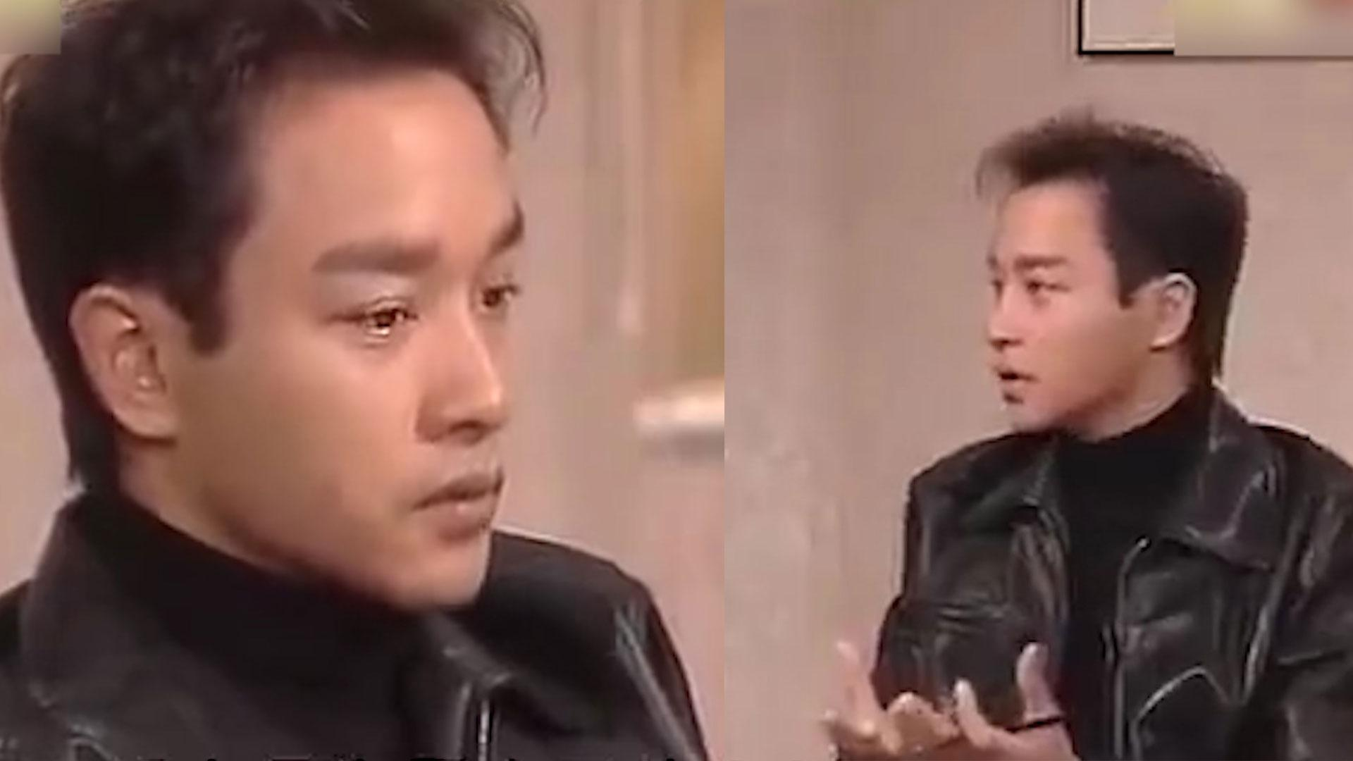 张国荣谈一直出名:不搏出位,有本事你也在舞台上穿高跟鞋
