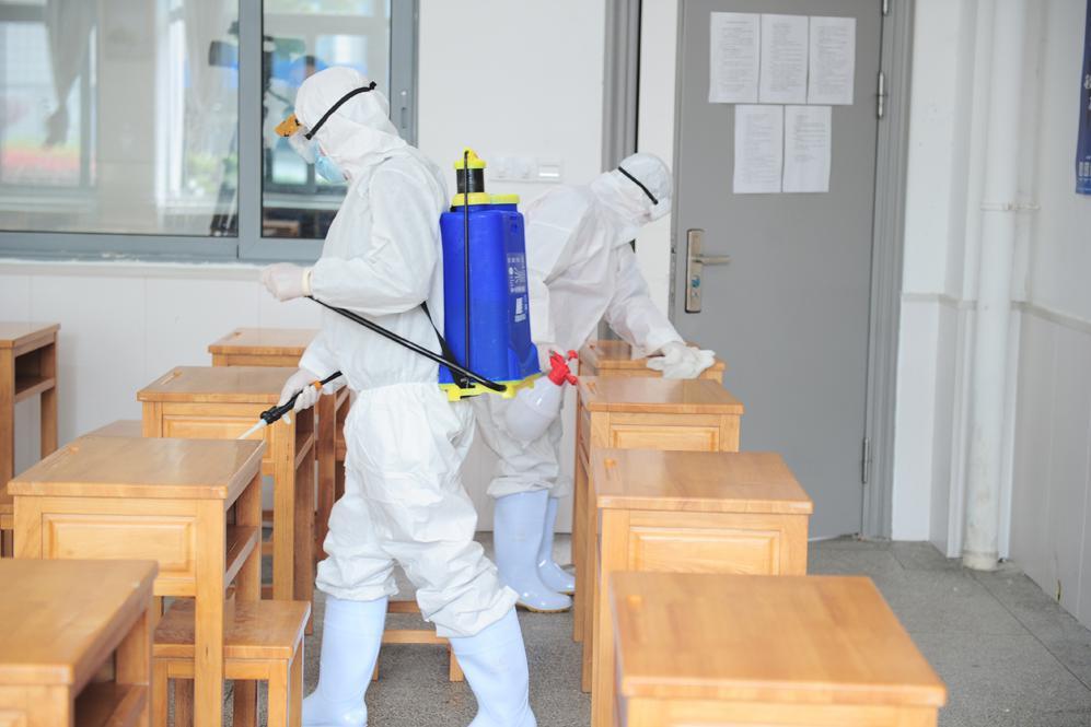 无锡技师学院举行疫情防控模拟应急演练