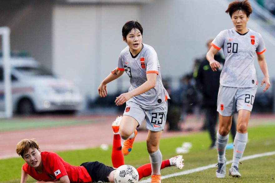 中国女足王牌组合亚洲顶尖:王霜+唐佳丽,实力碾压韩国队