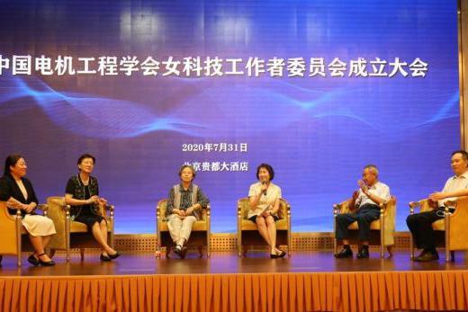 中国电机工程学会女科技工作者委员会成立