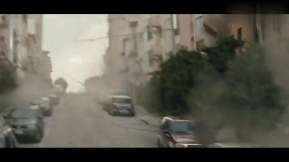 美国西部突发10级地震,房屋全被震得粉碎,科幻高分灾难片