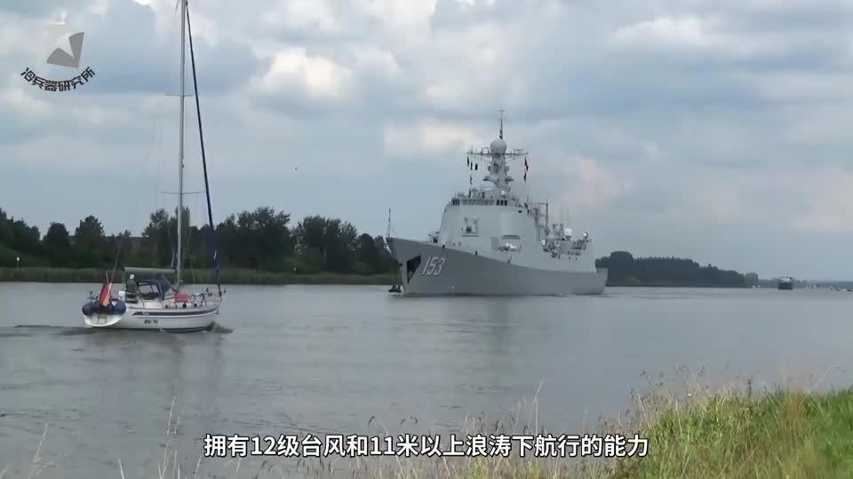 12级大风,10米高巨浪,052D和055驱逐舰能够安全航行吗?