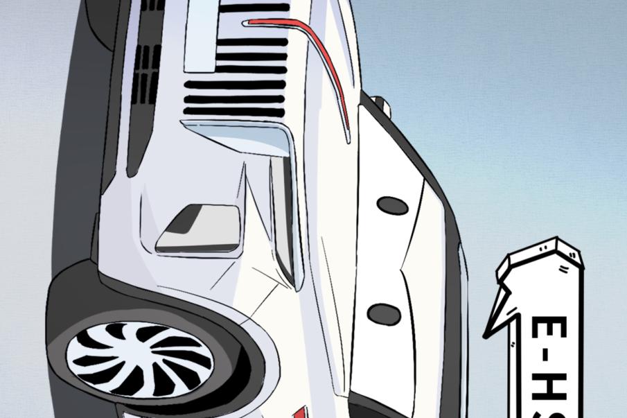 【漫画新车】国产电动SUV起售价50.98万元,你会爱吗?