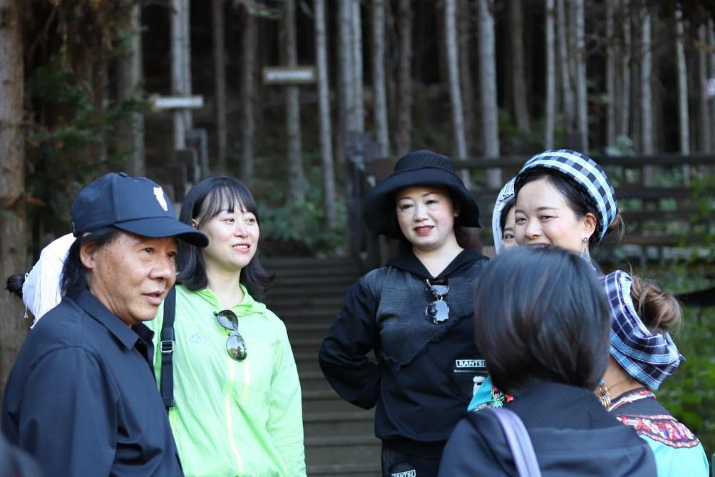 """贵州省舞蹈家协会主办的""""脱贫攻坚""""主题走基层采风团活动举行"""