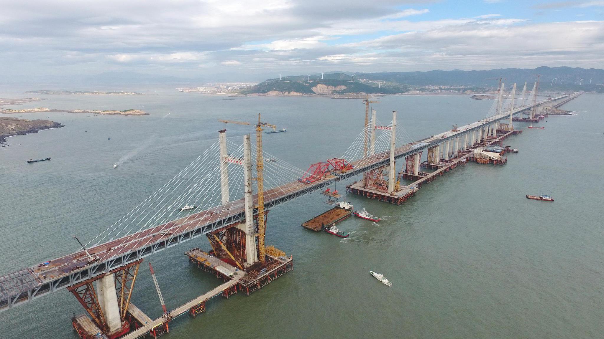 直通台湾,中国修建这一座跨海大桥,已预留大桥接口连接台湾!
