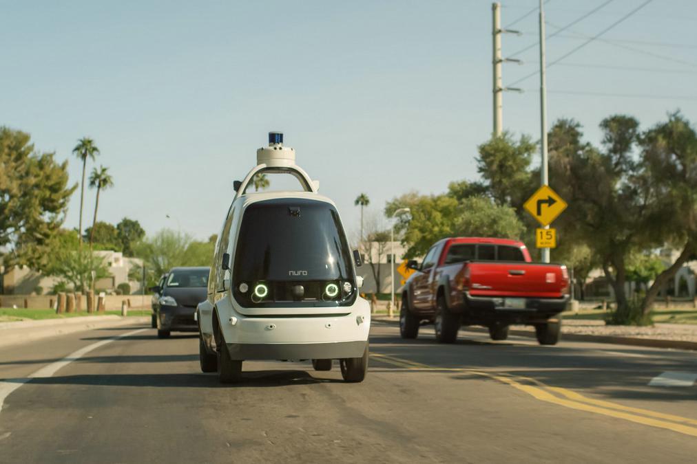 无人驾驶配送,多米诺将使用Nuro R2送货机器人