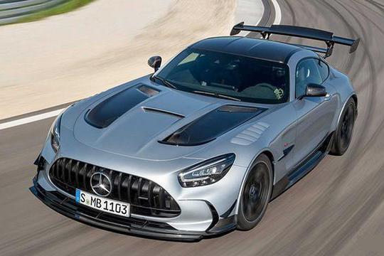 奔驰全新性能炸弹,AMG GT Black Series发布,百公里加速3.2s