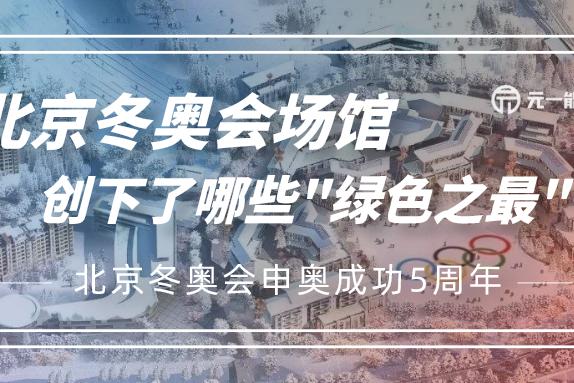 """申奥成功5周年 北京冬奥会场馆创下了哪些""""绿色之最""""?"""