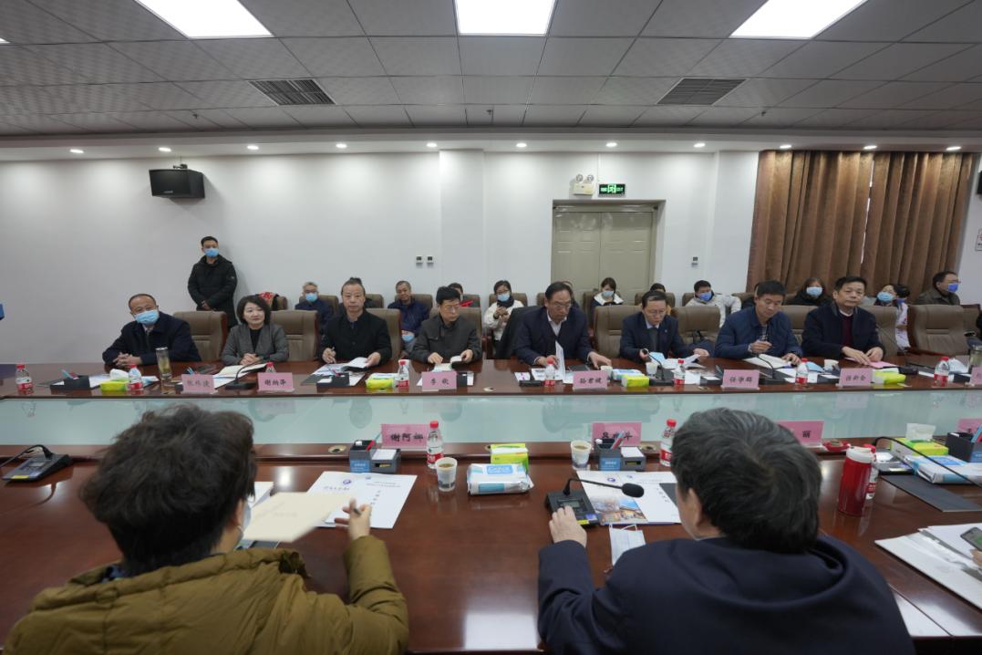 河南大学淮河医院迎接教育部临床医学专业认证工作前期考察