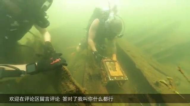 小伙到海洋潜水,意外发现沉船,打开后发现赚大了!