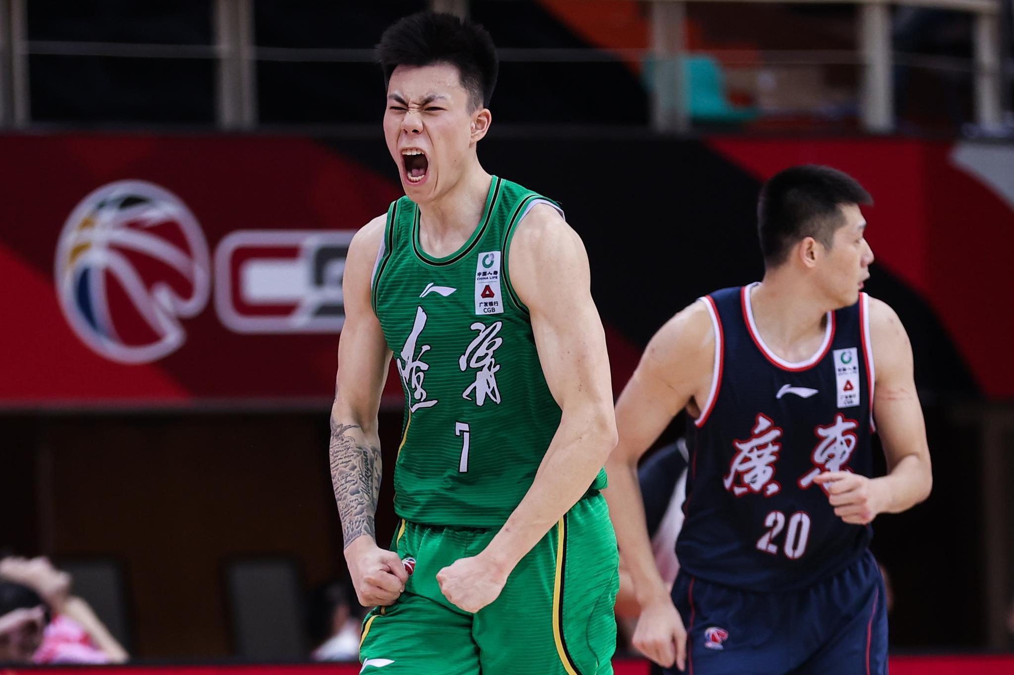 恭喜,年度最佳新秀出炉,张镇麟击败齐麟、朱松玮,中国男篮之星