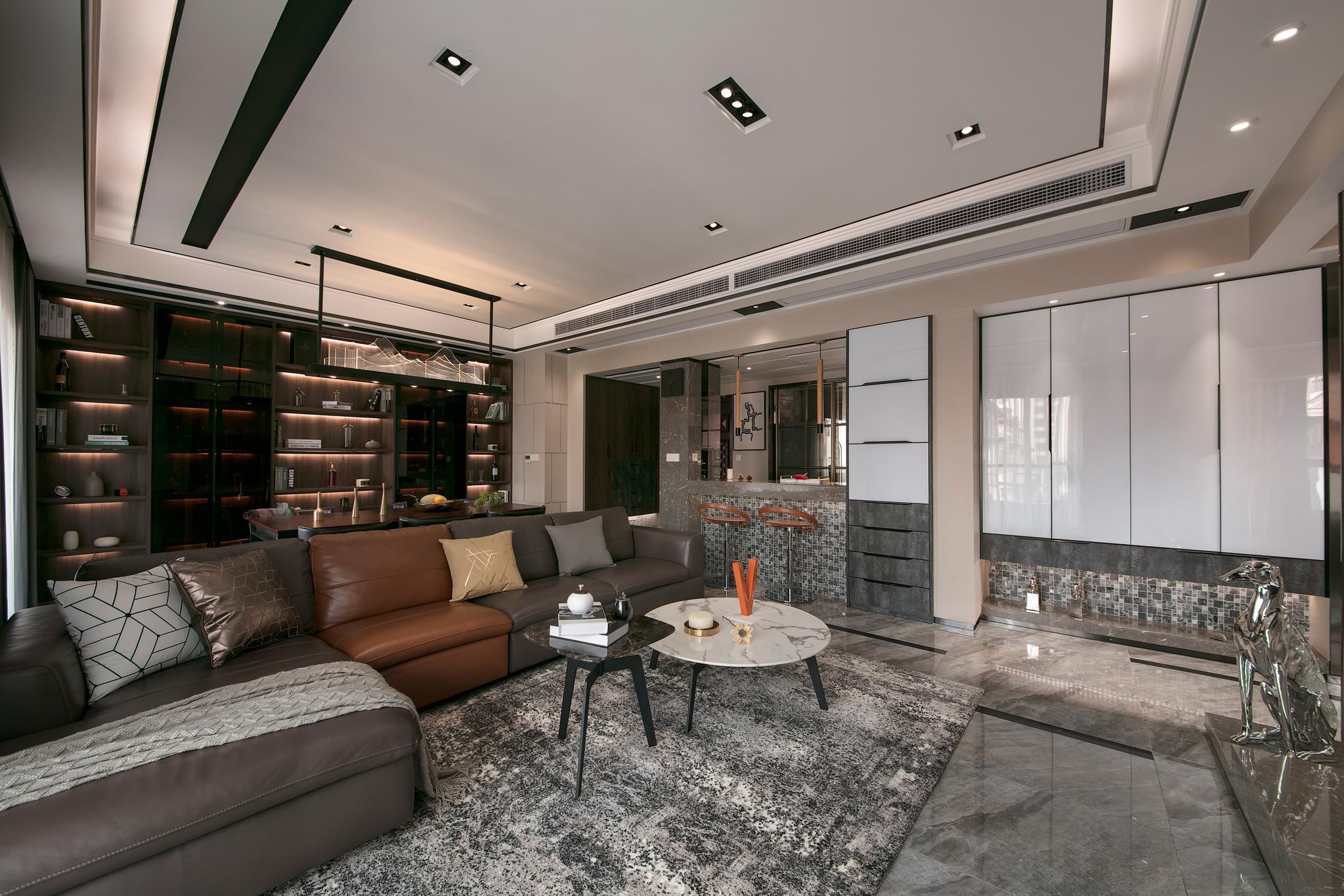 刘培钦作品:精英阶层的花园洋房,花88万装修,满是低调的幸福