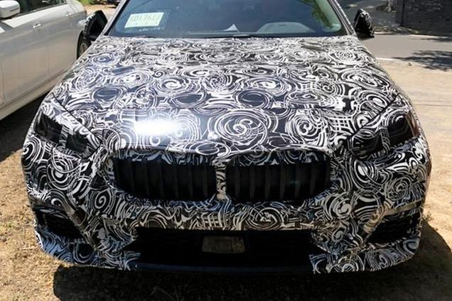 或已在国内进行道路测试 全新宝马2系Grand Coupe谍照曝光