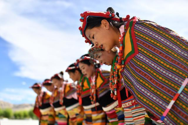 """""""藏西秘境""""的文化瑰宝——古格宣舞"""