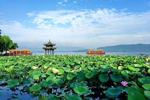 李汶翰打卡《人间西湖》 杭州西湖登顶6月全国热门景区榜首