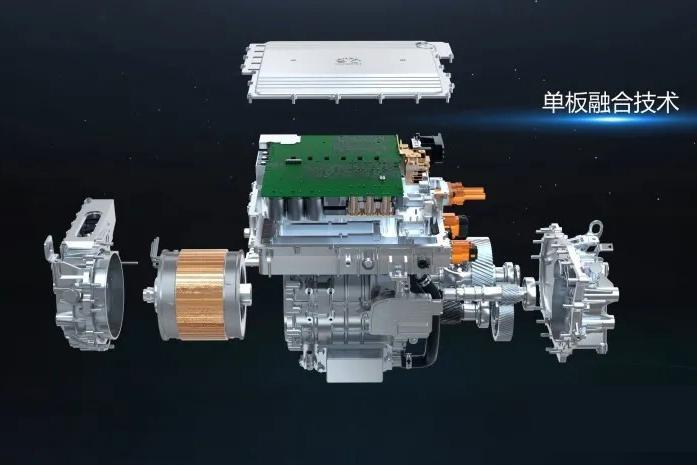 华为DriveONE多合一电驱动系统量产上市