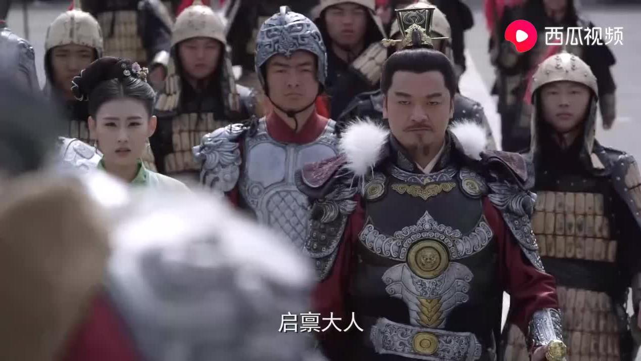 张家造反失败,为了让儿女活下去,将军在皇上面前自刎