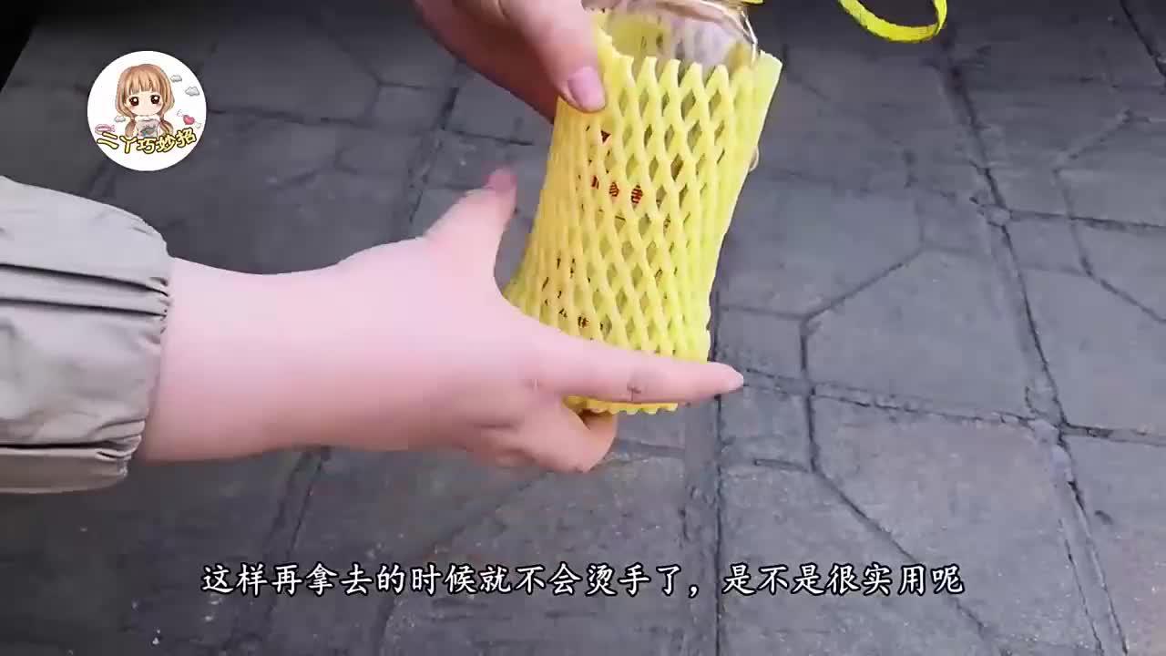 水果网套你还舍得扔掉吗?没想到剪一剪后作用这么大