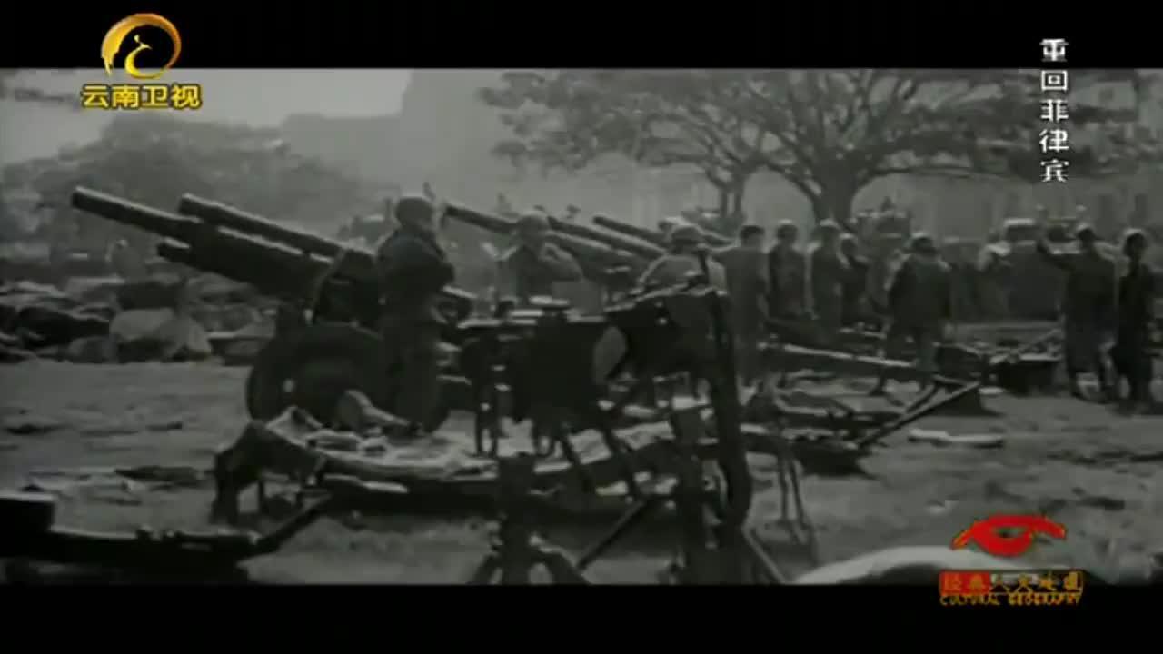 麦克阿瑟重回马尼拉,他来到这里第一件事,就是去看望盟军战俘