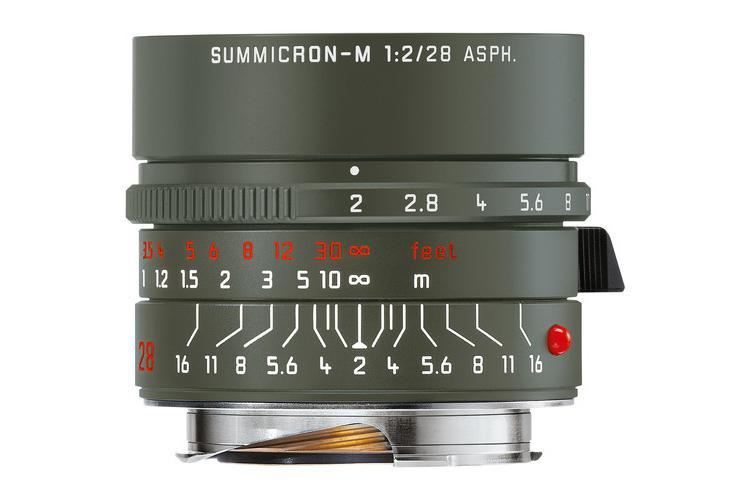 徕卡推出28mm f/2 Reporter限量版 军绿色外观