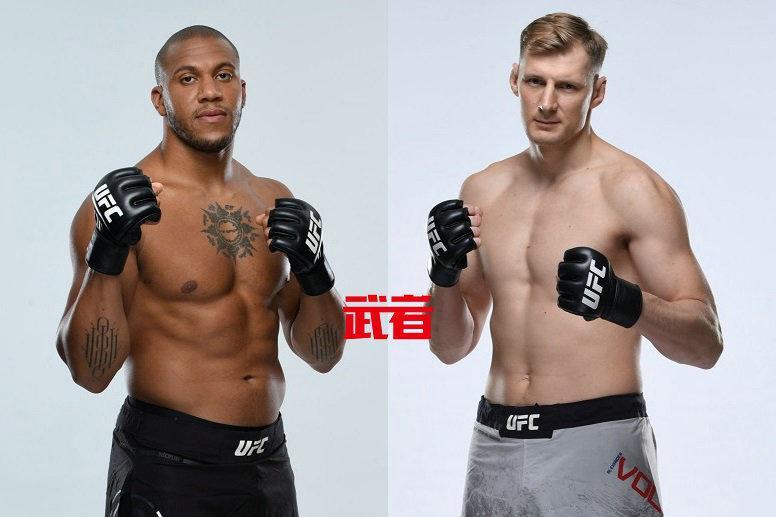 6月26日UFC:希尔·加恩vs亚历山大·沃尔科夫