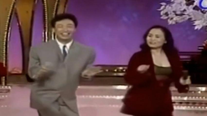费玉清最想删掉的视频,一首爱情恰恰连唱带跳,主持人都忍不住了