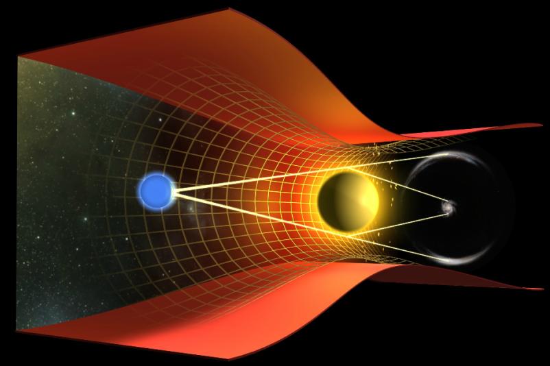 焦距比旅行者1号远5倍!用太阳做引力透镜,焦点达970亿公里!