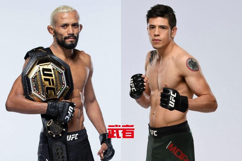 UFC 263:戴维森·菲格雷多vs布兰登·莫雷诺二番战