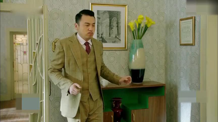 王大顶想离开和平饭店,想出了一招计谋,自夸有才华