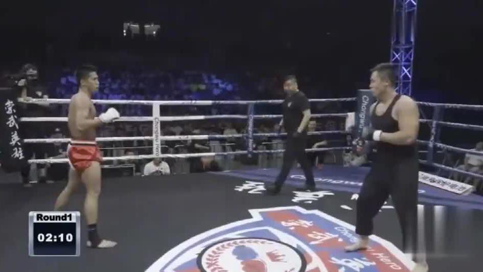咏春大师丁浩,74秒惨遭爆头KO,当场被踢晕,传武该何去何从?