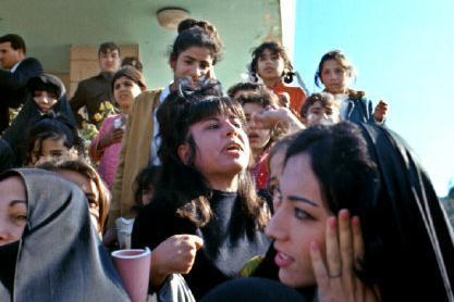 老照片 1969年的伊拉克首都巴格达 这伊拉克女子还挺漂亮的
