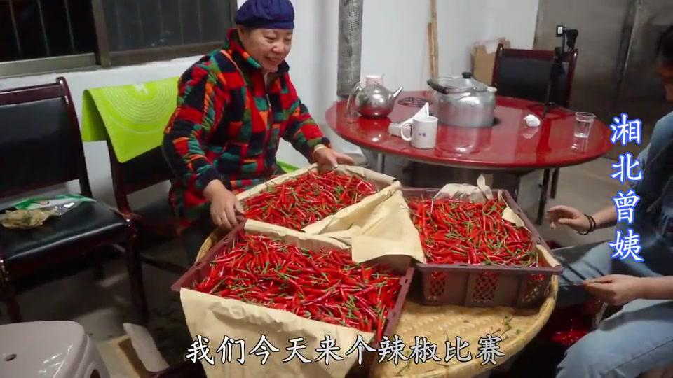 曾姨一口气进了20箱小米椒,为了提高办事效率,想出这个好办法