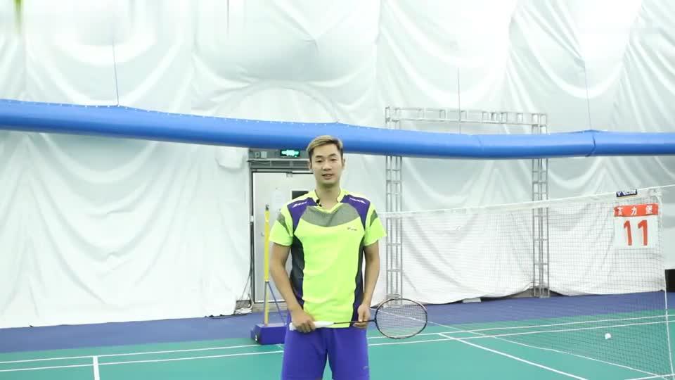 前国羽队员王睁茗:教你网前搓球技巧,正拍与反拍从外向里搓球!