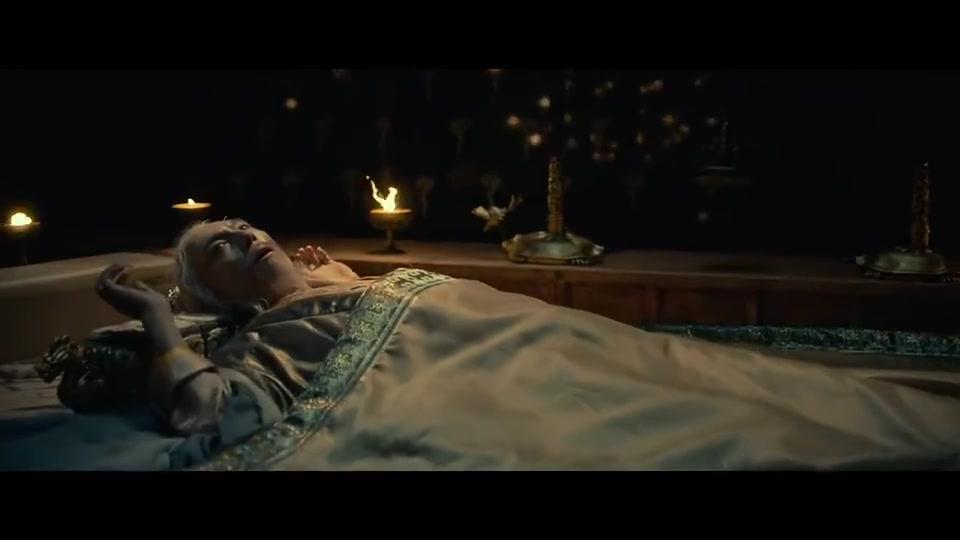 妖猫传:皇帝七日七夜未眠,法师刚想看病,下秒直接就驾崩了!