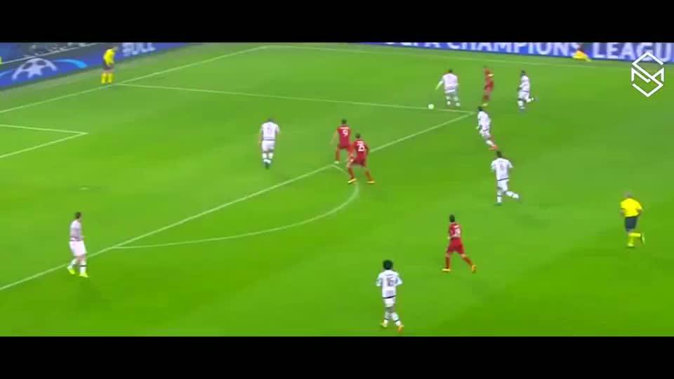欧冠2015-16赛季,拜仁6:4尤文精彩进球高清集合,重温巅峰对决