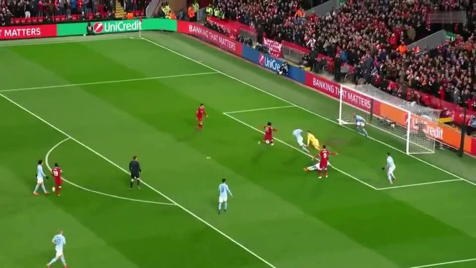 2018欧冠1-4决赛,曼城VS利物浦(1:5),曼城第二次止步半决赛