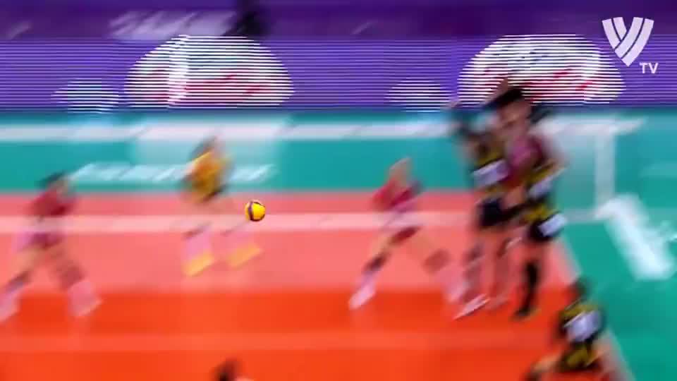 科舍列娃!身披恒大战袍的俄罗斯悍将,2019女排世俱杯精彩回眸!